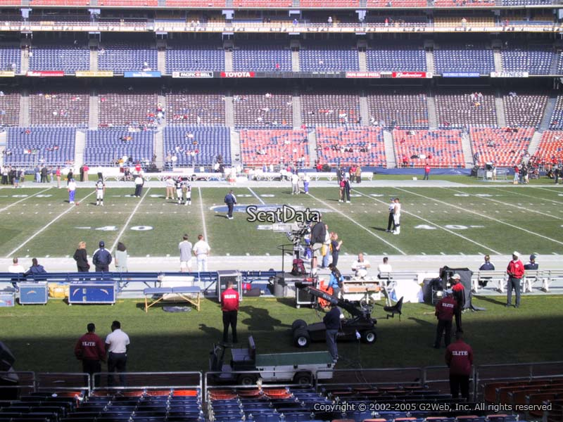 View Level Seats Qualcomm Stadium Qualcomm Stadium View From