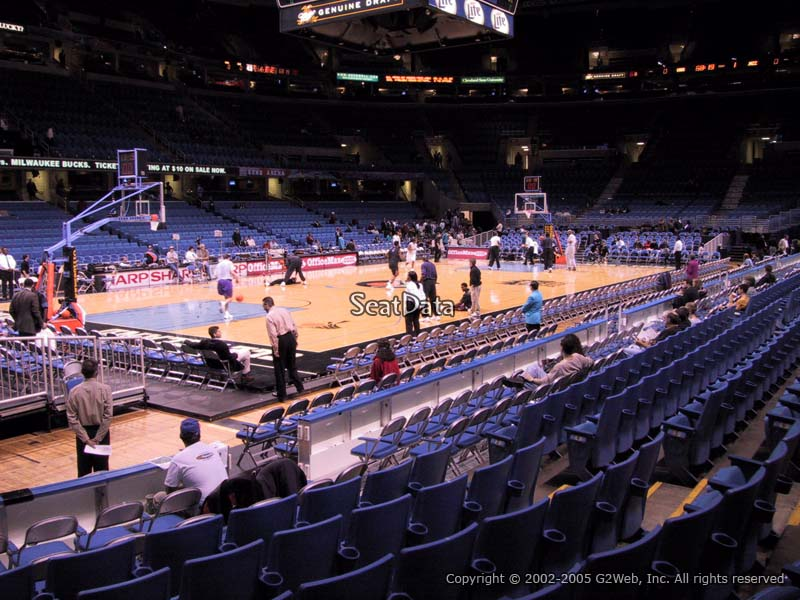 View from Section 123 at Quicken Loans Arena