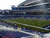 Seattle Seahawks Seat View for CenturyLink Field Section 100