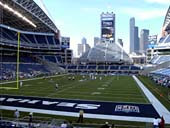 Seattle Seahawks Seat View for CenturyLink Field Section 120