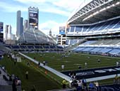 Seattle Seahawks Seat View for CenturyLink Field Section 126