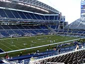 Seattle Seahawks Seat View for CenturyLink Field Section 214
