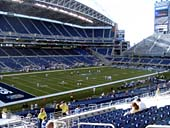 Seattle Seahawks Seat View for CenturyLink Field Section 215