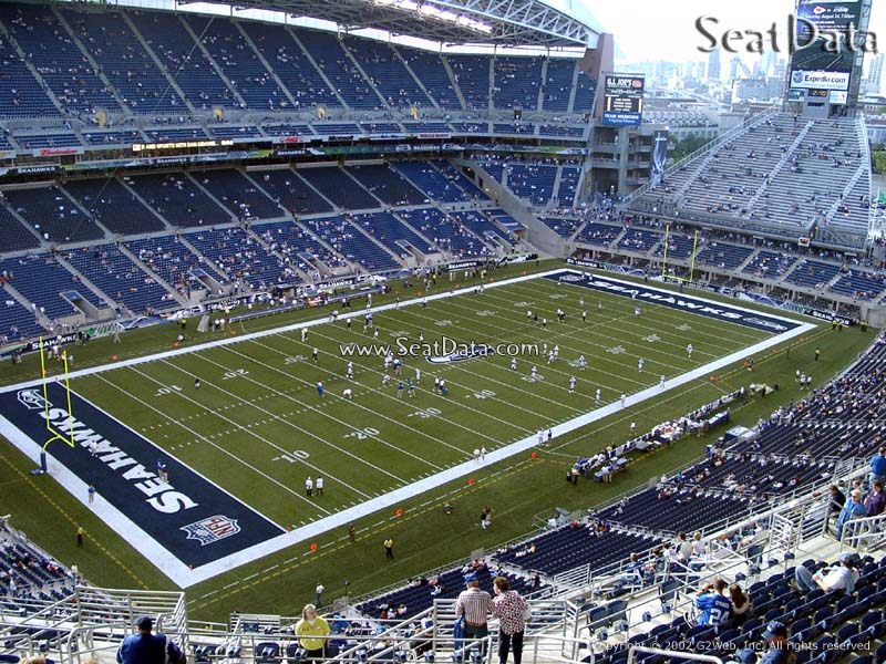 CenturyLink Field Section 316 View