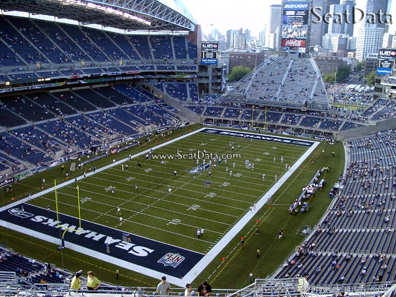 CenturyLink Field Section 319 Seat View