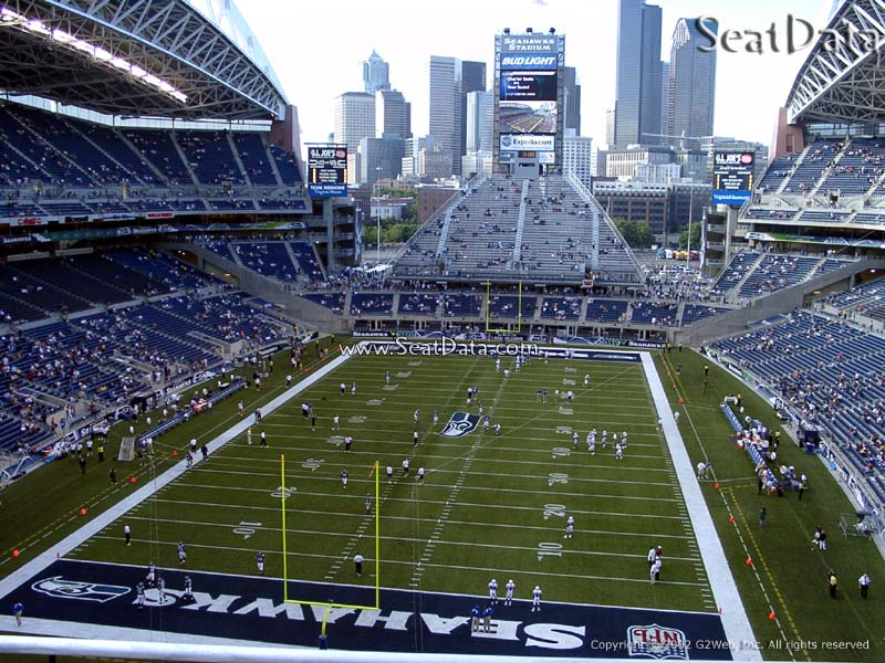 Centurylink Field Section 321 Seattle Seahawks Rateyourseats Com