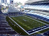 Seattle Seahawks Seat View for CenturyLink Field Section 327