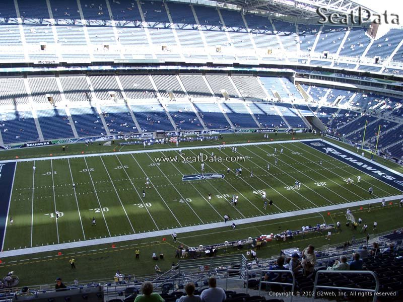 CenturyLink Field Section 338 Seat View