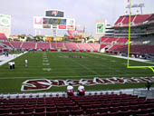 Seat View for Raymond James Stadium Section 122
