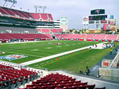 Seat View for Raymond James Stadium Section 127