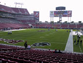 Seat View for Raymond James Stadium Section 150