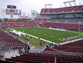 Seat View for Raymond James Stadium Section 219