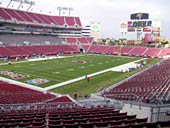 Seat View for Raymond James Stadium Section 227