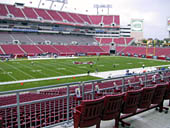 Seat View for Raymond James Stadium Section 232