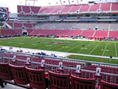 Seat View for Raymond James Stadium Section 238