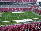 Seat View for Raymond James Stadium Section 308