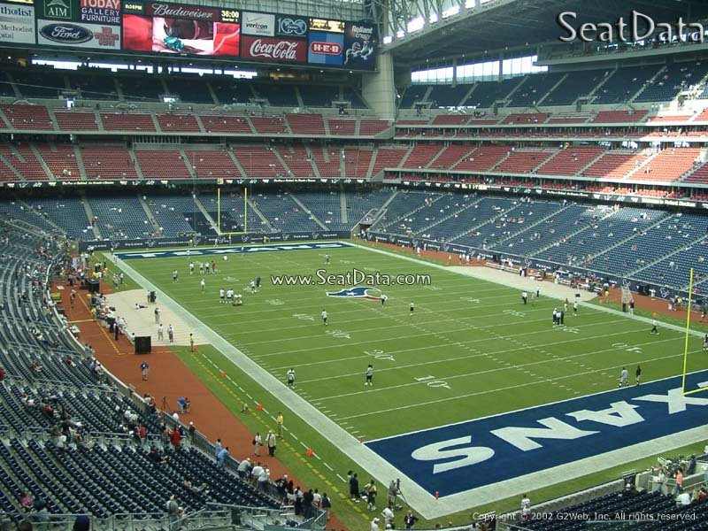 NRG Stadium (Reliant) Section 301 Seat View