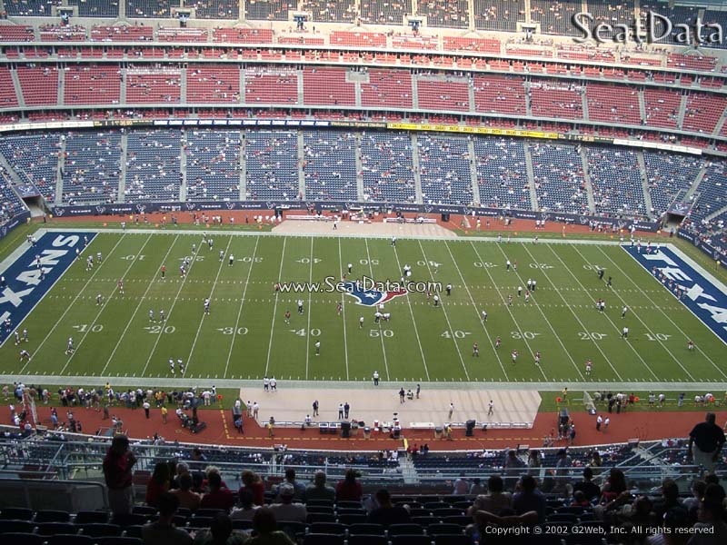 NRG Stadium (Reliant) Section 609 Seat View