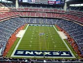 Houston Texans Seat View for NRG Stadium Section 622