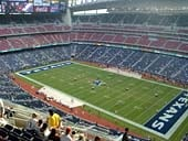 Houston Texans Seat View for NRG Stadium Section 629