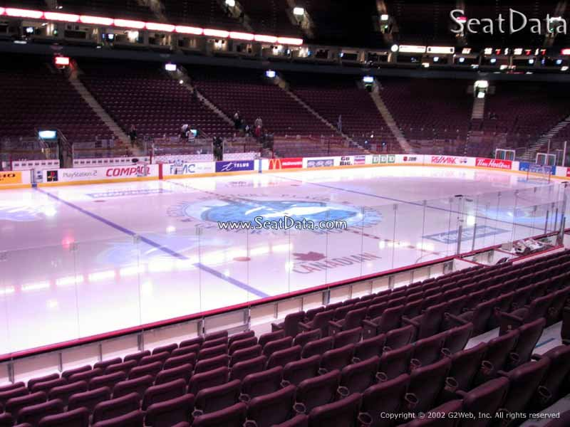 Rogers Arena Section 108 - Vancouver Canucks ...