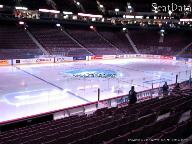 Vancouver Canucks Rogers Arena Seating Chart Interactive