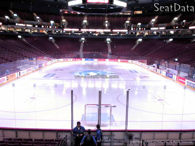 Rogers Arena Section 122 Vancouver Canucks