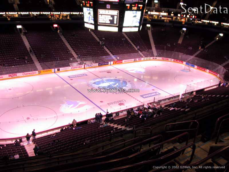 Seat View for Rogers Arena Section 325