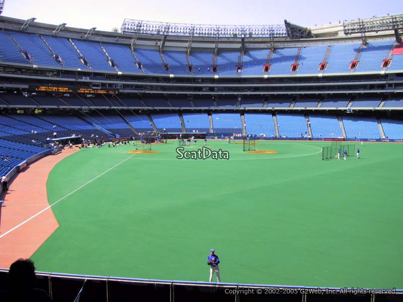 Seat View for Rogers Centre Section 108