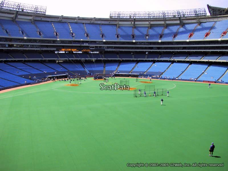 Seat View for Rogers Centre Section 204