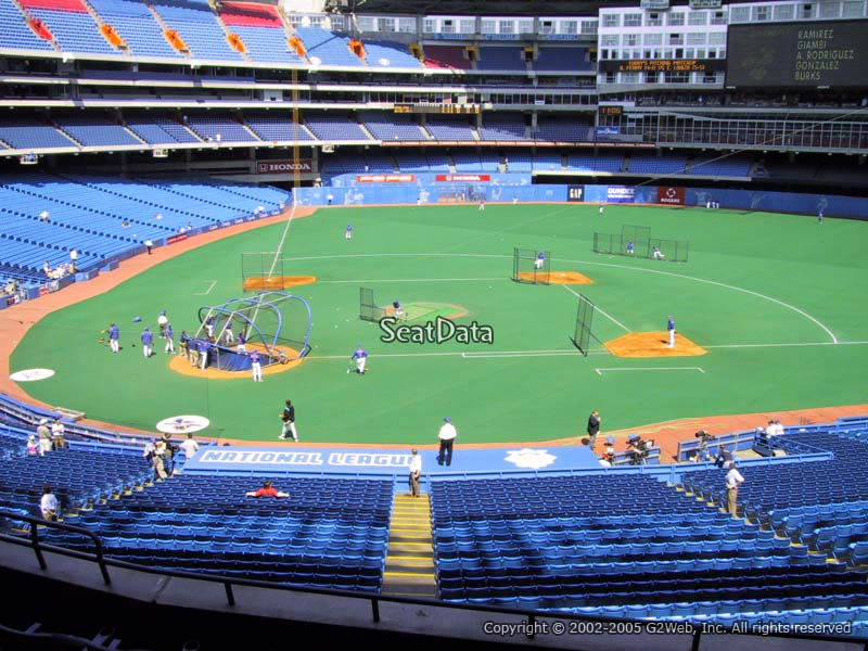 Rogers Centre Section 221 Seat View