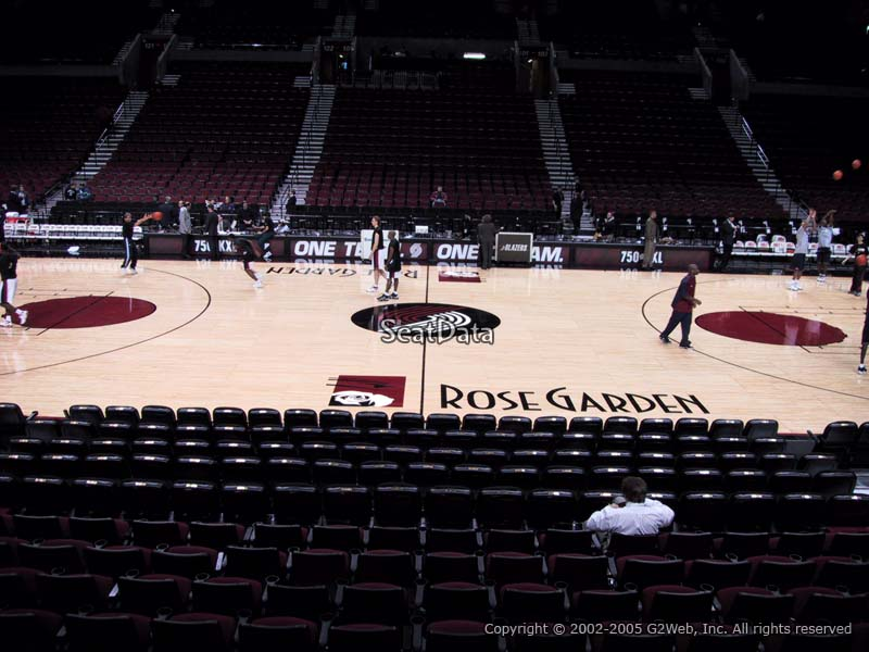 Seat View for Moda Center Section 112