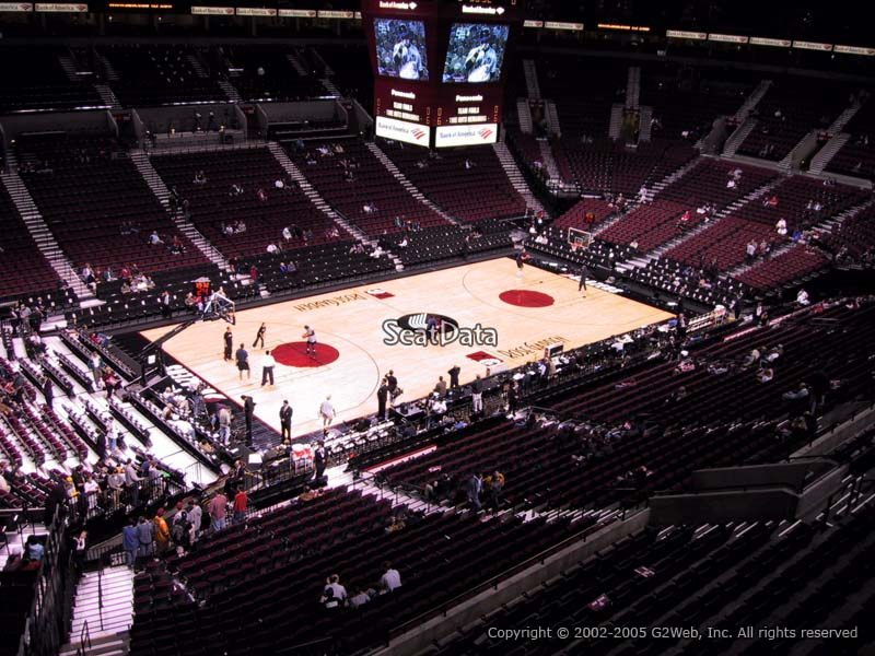Seat View for Moda Center Section 204