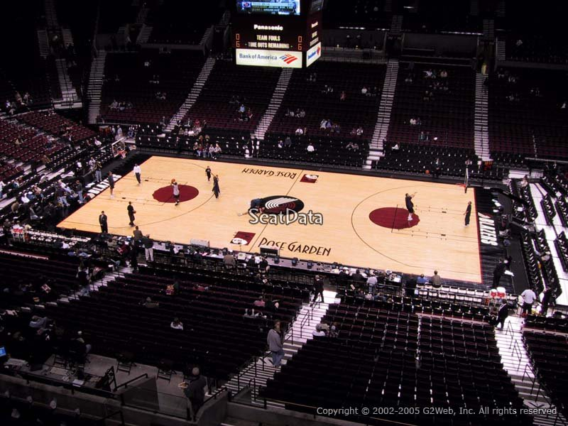 Seat View for Moda Center Section 230