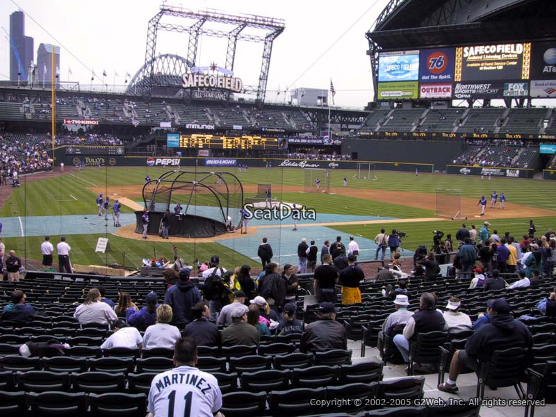 Safeco Field Section 127 Seat View