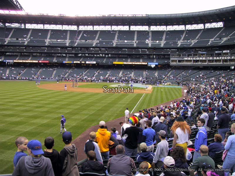 Safeco Field Section 150 - Seattle Mariners ...