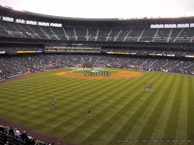 Safeco Field Section 195 Seattle Mariners