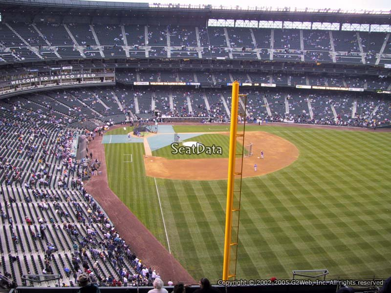 View Level Outfield Safeco Field Baseball Seating