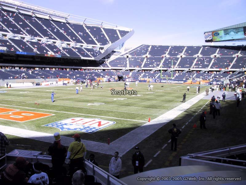 Soldier Field Section 119 Chicago Bears Rateyourseats Com