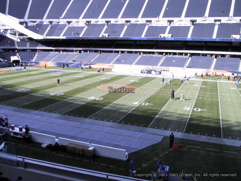 Soldier Field Section 207 - Chicago Bears - RateYourSeats.com