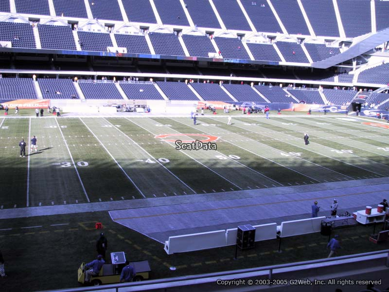 Soldier Field Section 211 Seat View