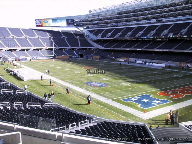 media deck seats soldier field