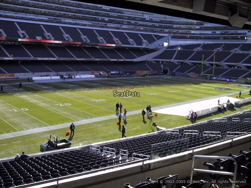 Soldier Field Section 243 Chicago Bears Rateyourseats Com