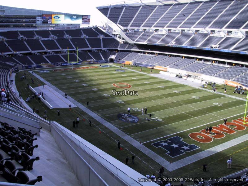 Soldier Field Section 301 Chicago Bears Rateyourseats Com