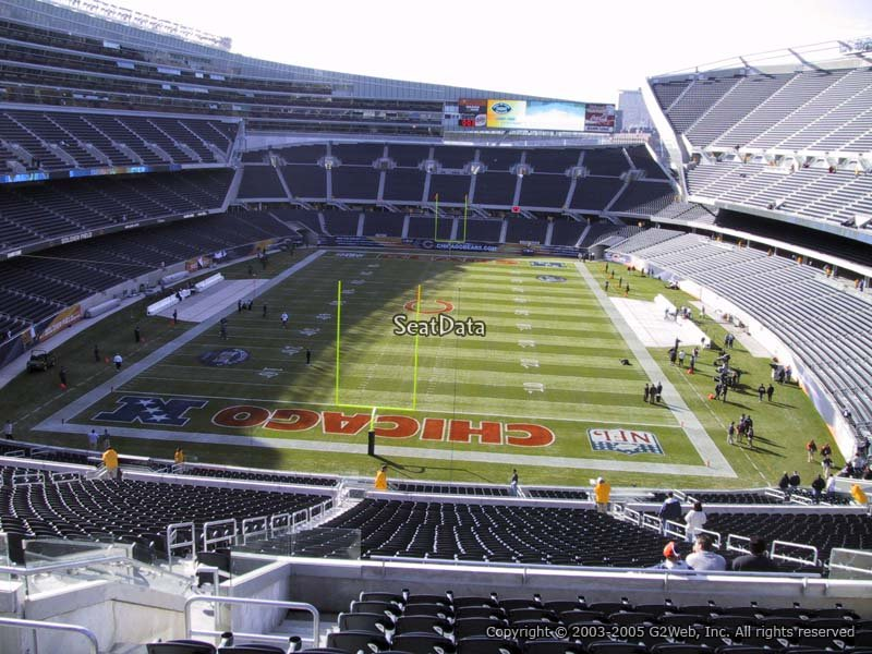 Soldier Field Section 351 - Chicago Bears - RateYourSeats.com