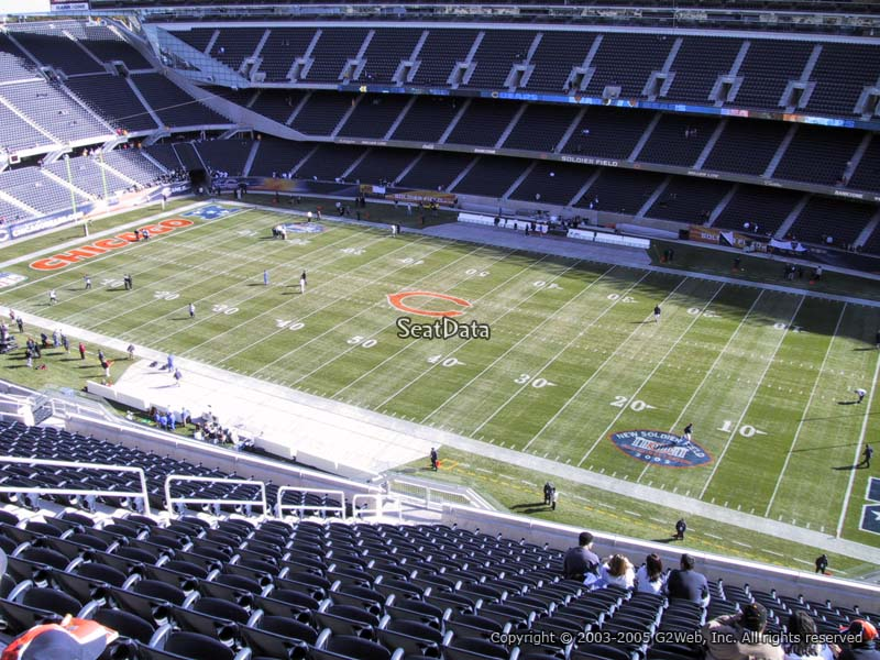 Soldier Field Section 433 - Chicago Bears - RateYourSeats.com