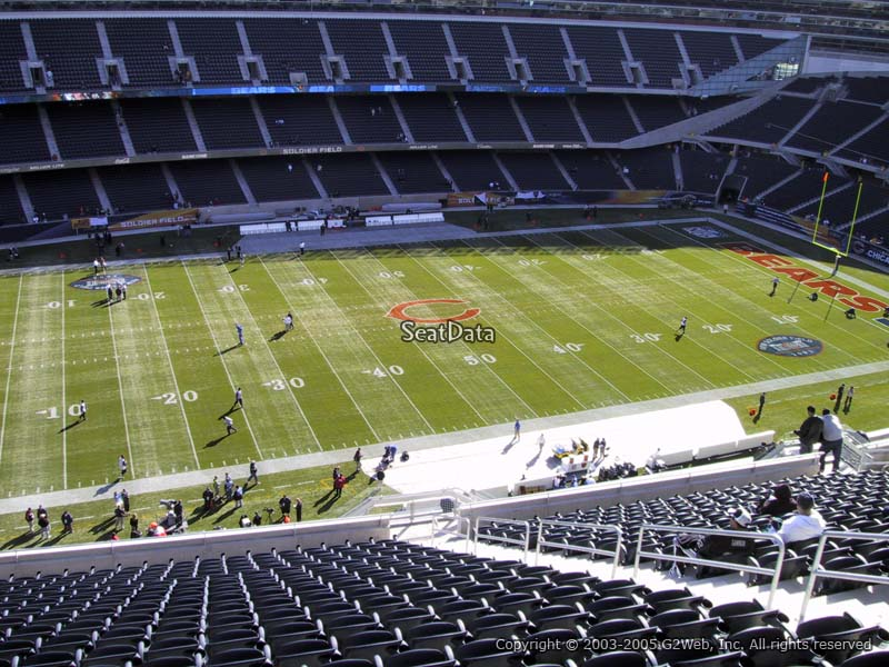 Soldier Field Section 440 - Chicago Bears - RateYourSeats.com