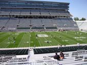 Seat View for Spartan Stadium Section 9