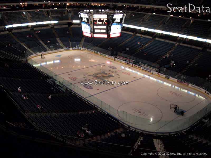 Tampa Bay Times Forum Section 312 Seat View
