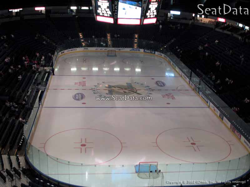 Seat View for Amalie Arena Club 5